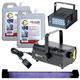 ADJ American DJ Fog Machine with Strobe & UV Light Pack