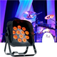 ADJ American DJ Flat Par QA12XS RGBA LED Light with Snoot