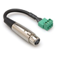 Phoenix (M) to 3-Pin XLR (F) Adaptor - 6 Inch