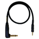 Mogami Beltpack Right Angle Instrument Cable for Sennheiser Wireless Systems 24ft