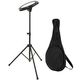 On-Stage DFP5500 Drum Practice Pad w/ Stand & Bag