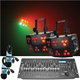 Chauvet Wash FX RGB LED Light 2-Pk w/ Controller