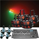 Chauvet Wash FX RGB LED Light 4-Pk w/ Controller