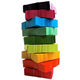 CITC Confetti Stacks 1 lb - Rainbow