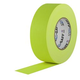 PRO Fluorescent Yellow Gaffers Stage Tape 2 In x 55 Yds