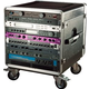 Gator 14U Rack Base w/Casters For Audio Racks