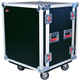 Gator 12U Shock Audio Road Rack Case w/Casters   *