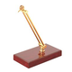 On Stage WDS100G Mic Display Stand Gold