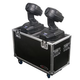 Odyssey Flight Zone Dual Small Moving Head Case  *