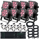 Mega Lite Baby Color Q70 8x LED Light System
