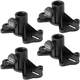 Exterior Mounting Speaker Stand Bracket 4-Pack