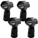 Professional Microphone Clip 4 Pack