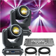 ADJ American DJ Vizi Beam 5RX 2 Pack with Controller & Cable