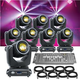 ADJ American DJ Vizi Beam 5RX 8 Pack with Controller & Cable