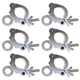 Global Truss Eye Clamp 2-Inch Wrap Around 6 Pack