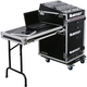 Odyssey ATA Rack 13U x 16U w Wheels & Side Table *
