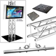 Global Truss 7.05 Ft F34 Truss Totem & LCD/Plasma Mount   *
