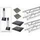 Global Truss Dual 9.02Ft Vertical Totem System   *