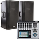 QSC K12 Powered Speakers (2) & TouchMix 16 Digital Mixer