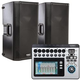 QSC K12 Speakers with TouchMix 8 Digital Mixer
