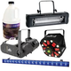 PSSL DMX Lighting Pack with Fog Machine, Swarm 5 FX, and UV Black Light