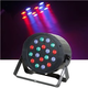 Solena Max Par 18 18-Watt RGB DMX LED Wash Light