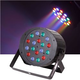 Solena Max Par 54 18x3-Watt DMX RGB LED Light