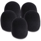 On-Stage Black Microphone Windscreen 5 Pack