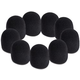 On-Stage Black Microphone Windscreen 9 Pack