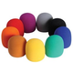 On-Stage Color Microphone Windscreen 9 Pack
