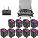 Chauvet Freedom Par Hex X9 with FlareCON & Case
