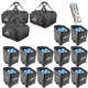 Chauvet Freedom Par Tri-6 12 Pack with Bags & IRC 6 Remote