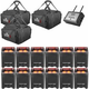 Chauvet Freedom Par Quad 12 Pack with FlareCON Air & Gig Bags