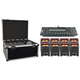 Chauvet Freedom Par Quad 4 4 pack with Road Case