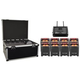 Chauvet Freedom Par HEX 4 8-Pack with ATA Road Case