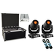 Chauvet Intimidator Spot 355Z IRC 2 Pack with Road Case