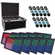 ADJ American DJ Profile Panel RGB LED 10 Pack with Road Case