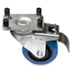 Intellistage IS4CASTB 4Pk of Casters w/ Brakes