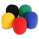 On-Stage Color Microphone Windscreen 5 Pack