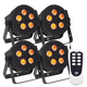 ADJ American DJ Hex Par Pak with 4 5P LED and Remote