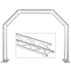 Global Truss Arch System Complete Archway with 0.5M Extension