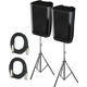 Peavey DM115 15-Inch Powered Speaker Bundle