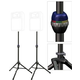 Ultimate Dual TS90B Tripod Speaker Stand Pack