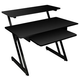 On-Stage WS7500B Wood Studio Workstation Desk - Black