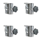 Proflex PF4GRCL Guardrail Assembly Clamps 4-Pack