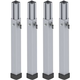 Proflex PF4TL4 Adjustable 31 to 51-Inch Telescopic Staging Leg 4 Pack