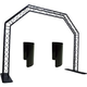 Global Truss Black Arch System 1 w/ Light Shield *