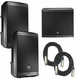 JBL EON610 Pair & EON618S Powered Speaker Bundle