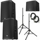 Electro-Voice EKX-12P (Pair) & EKX-18SP Powered Speakers Bundle