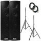 Alto Trouper Portable PA System Bundle w/ Stands